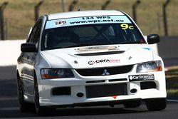 #9 Cerasport, Mitsubishi Lancer Evo X: Charlie Hollings, Nathan Caratti, Colin Corkery