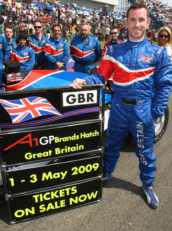 Danny Watts, driver of A1 Team Great Britain