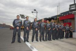 L'équipe Carhartt se lève pour l'hymne national