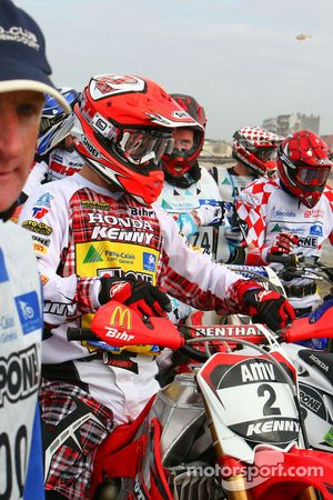 #2 Mc Pecqencourt Honda 450 4T: Timotei Potisek
