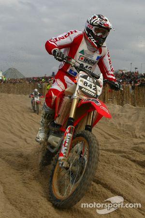#842 Honda 450 4T: Thomas Langelot