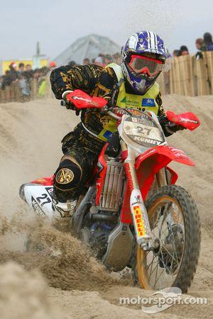 Roberto Pievani, Honda 450 4T N°27