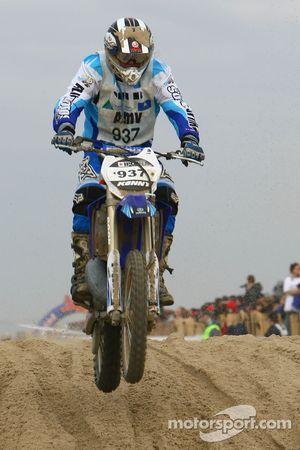 Christophe Riboulet, Yamaha 250 2T N°937