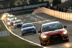 #1 TMR Australia, Mitsubishi Lancer Evo X: Rod Salmon, Tony Longhurst, Damien White