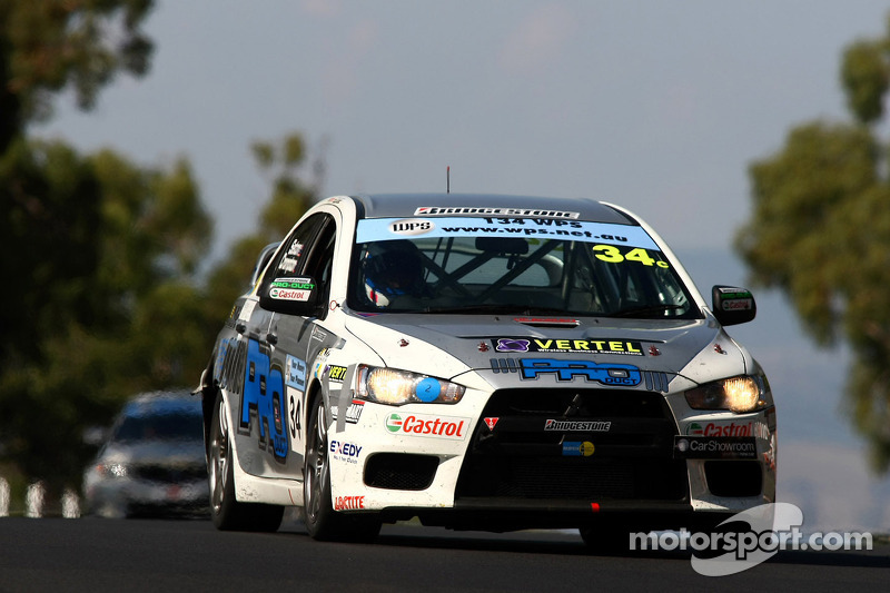 #34 PRO-DUCT Motorsport, Mitsubishi Lancer Evo X: Jason Bargwanna, Neil Crompton, Brad Jones