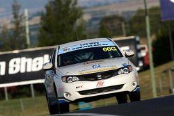 #66 Jim Hunter Motorsport, Subaru Impreza 2.5: Heather Spurle, Christina Orr, Molly Taylor