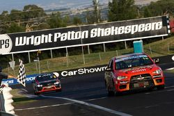 #1 Rod Salmon, Tony Longhurst, Damien White take the win in the Mitsubishi Lancer Evo X for a second year in a row