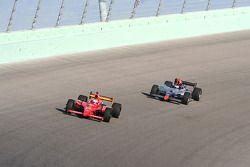Graham Rahal (Newman/Haas/Lanigan Racing) & Mario Moraes (KV Racing Technology)