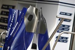 Le capot moteur de Williams