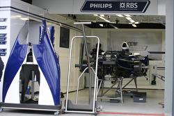 Dans le garage Williams