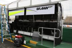Le portique de Brawn GP