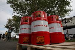 Le carburant bio pour la course de F1
