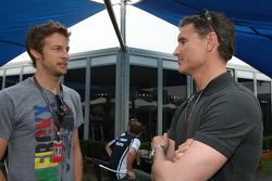 Jenson Button (Brawn GP) et David Coulthard