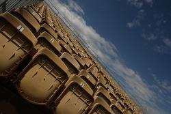 Les sièges de la tribune
