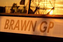 Brawn GP garage