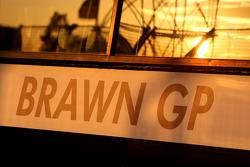 Garage de Brawn GP