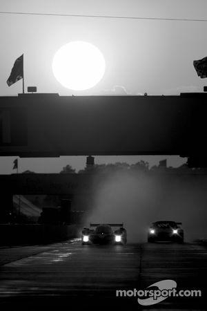 Nicolas Minassian, Pedro Lamy, Christian Klien (N°7), Peugeot 908 HDI FAP