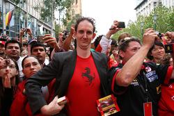 Un fan de Scuderia Ferrari