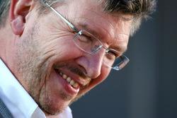 Ross Brawn, directeur général de Brawn GP