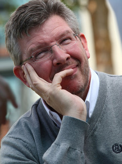 Ross Brawn, directeur général de Brawn Grand Prix