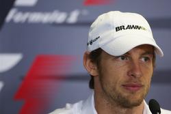 Conférence de presse de la FIA : Jenson Button, Brawn GP