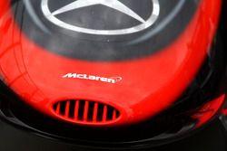 Le nez de la McLaren MP4-24 vu de près