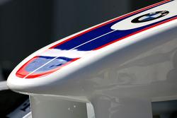 Détail aileron avant BMW Sauber F1