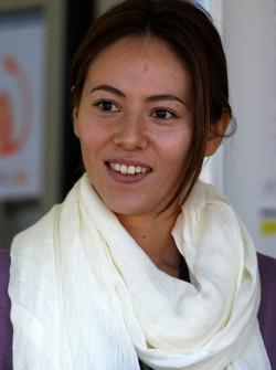 Jessica Michibata, petite amie de Jenson Button (Brawn Grand Prix)