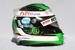 Casque de Nick Heidfeld, BMW Sauber F1 Team