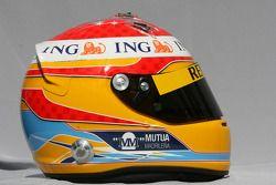 Fernando Alonso, Renault F1 Team helmet