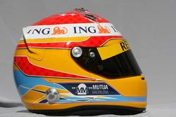 Casque de Fernando Alonso, Renault F1 Team