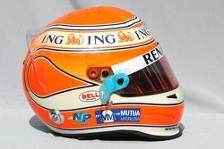 Nelson A. Piquet, Renault F1 Team helmet