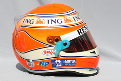 Casque de Nelson A. Piquet, Renault F1 Team