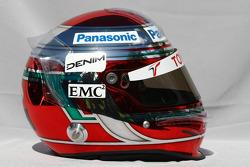 Casque de Jarno Trulli, Toyota Racing