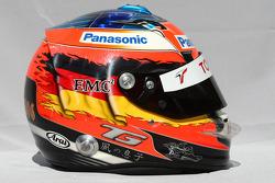 Casque de Timo Glock, Toyota F1 Team