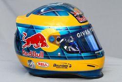 Sébastien Bourdais, Scuderia Toro Rosso helmet