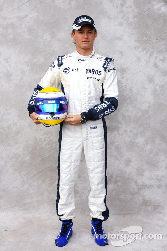 Nico Rosberg, Williams F1 Team at Australian GP High-Res ...