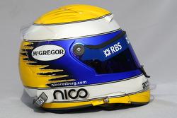 Casque de Nico Rosberg, Williams F1 Team