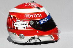 Kazuki Nakajima, Williams F1 Team helmet