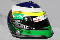 Casque de Giancarlo Fisichella, Force India F1 Team