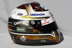 Casque de Adrian Sutil, Force India F1 Team
