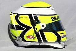 Casque de Jenson Button, Brawn GP