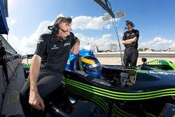David Brabham, prêt à partir en piste
