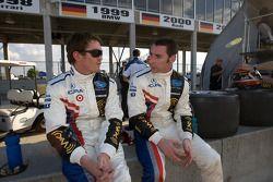 Scott Dixon et Simon Pagenaud