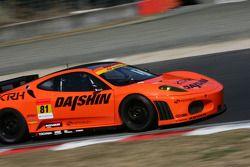 Daishin Advan Ferrari N°81 (Takayuki Aoki, Tomonobu Fujii)
