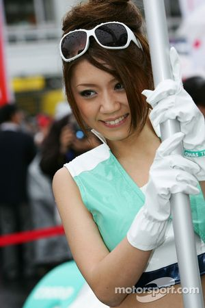 Une demoiselle Petronas