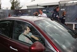 Michael Schumacher, Scuderia Ferrari, Luca Badoer, Test Driver, Scuderia Ferrari