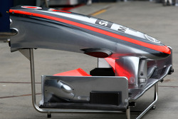 Nez de la McLaren Mercedes MP4-24
