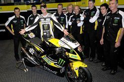 Colin Edwards and his Yamaha YZR-M1