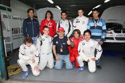 Alex Zanardi, BMW Team Italy-Spain meets the Formula BMW Americas Driver